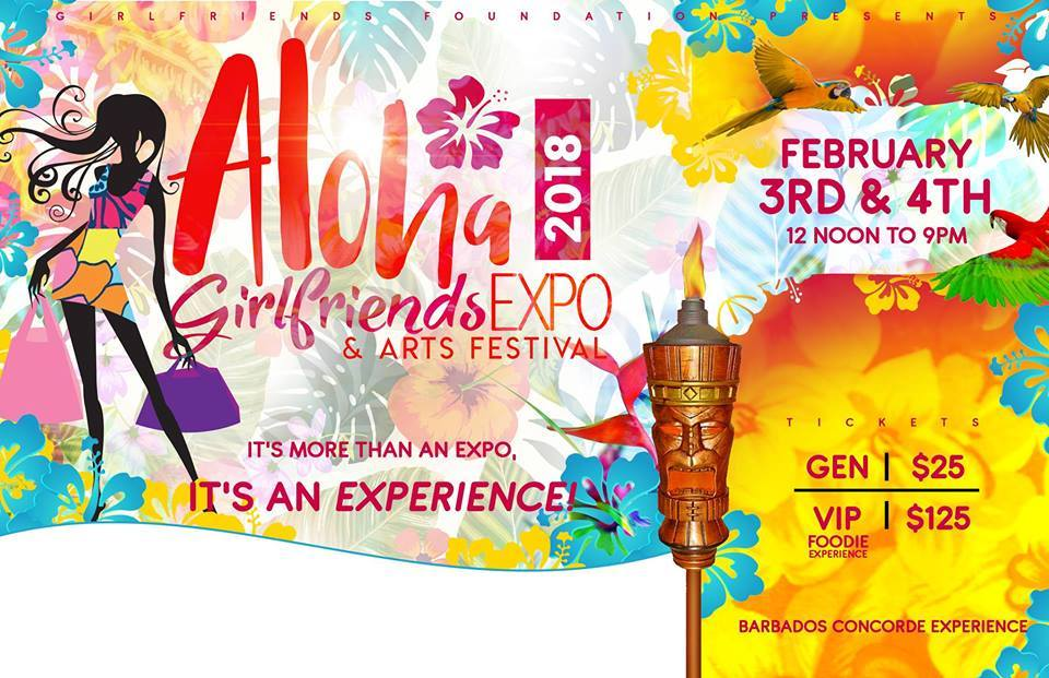 Girlfriends Expo 2018: Aloha!