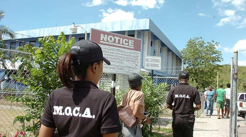 MOCA operatives on an operation (file photo)