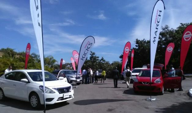 Exposition de véhicules à Universal Motors