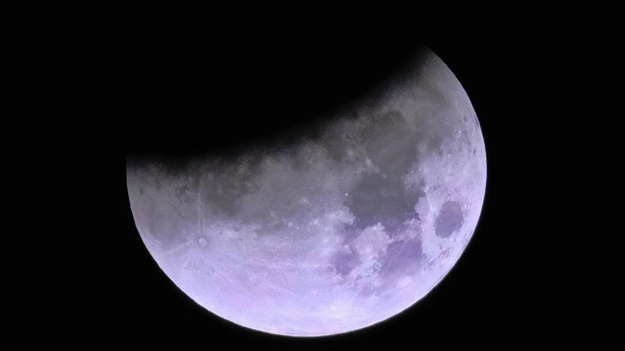 NASA telescopes relay live feed of rare super blue blood moon