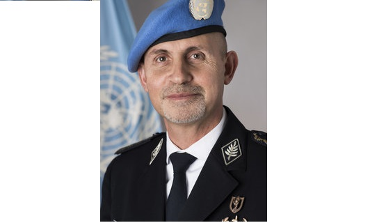 Police Commissioner Luís Carrilho. Photo : police.un.org