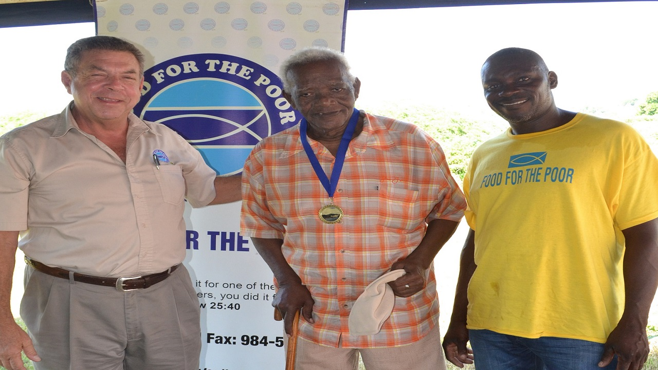 A total of fifteen veteran fishermen were awarded for their years of service to the community.