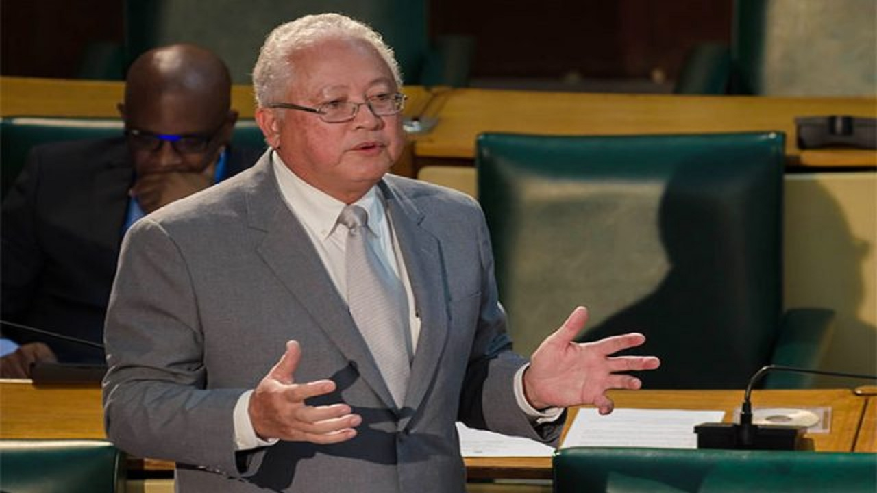 Justice Minister, Delroy Chuck
