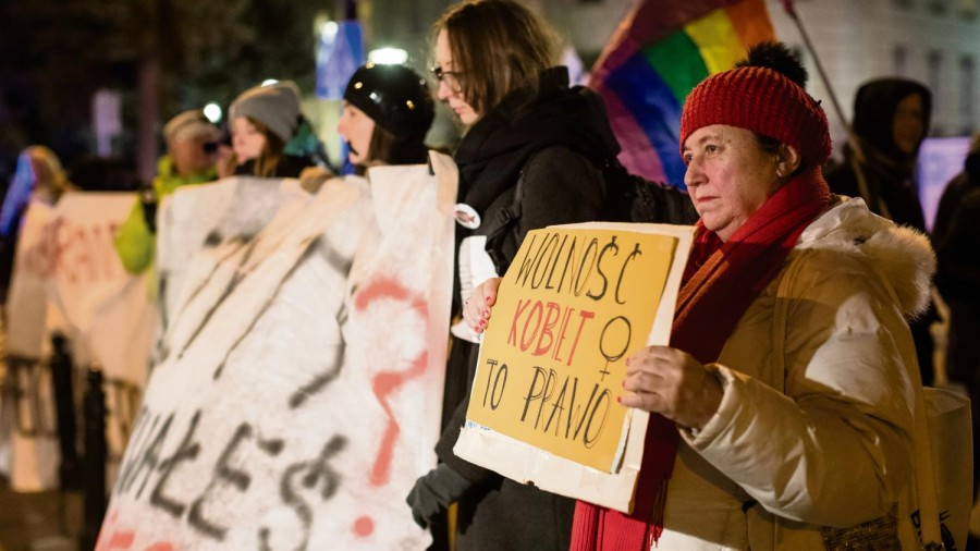 Le débat sur l'avortement relancé au Parlement polonais. Photo : AFP