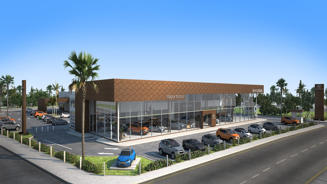 The new home of the company's pristine showroom and high-tech service centre will be seven times larger than its two current locations combined.