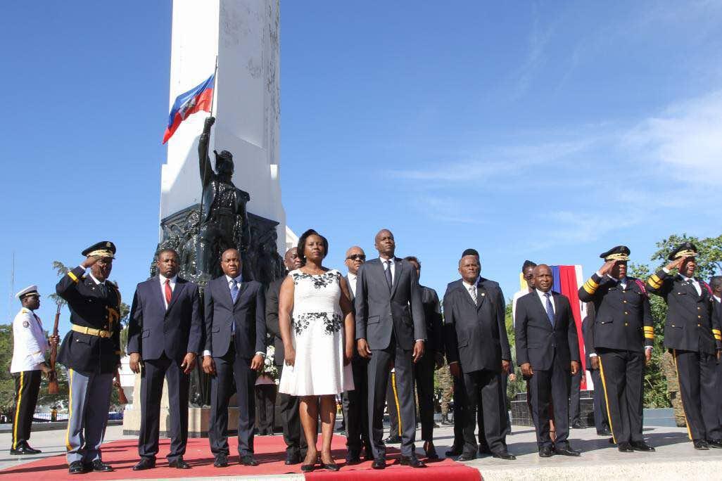 Commémoration des 214 ans de l'indépendance. Photo : Ministère de la Communication