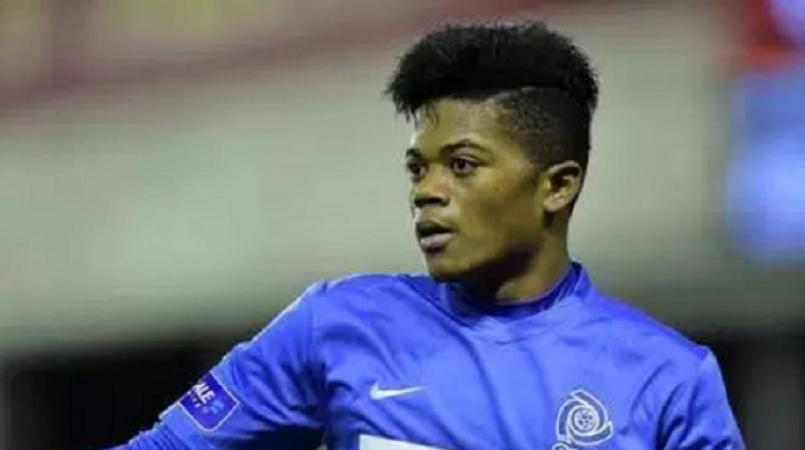 Jamaican Leon Bailey, who plays for Bundesliga club Bayer Leverkusen.