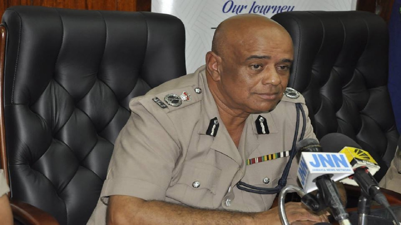 Police Commissioner George Quallo... where the buck ultimately stops in the Jamaica Constabulary Force.