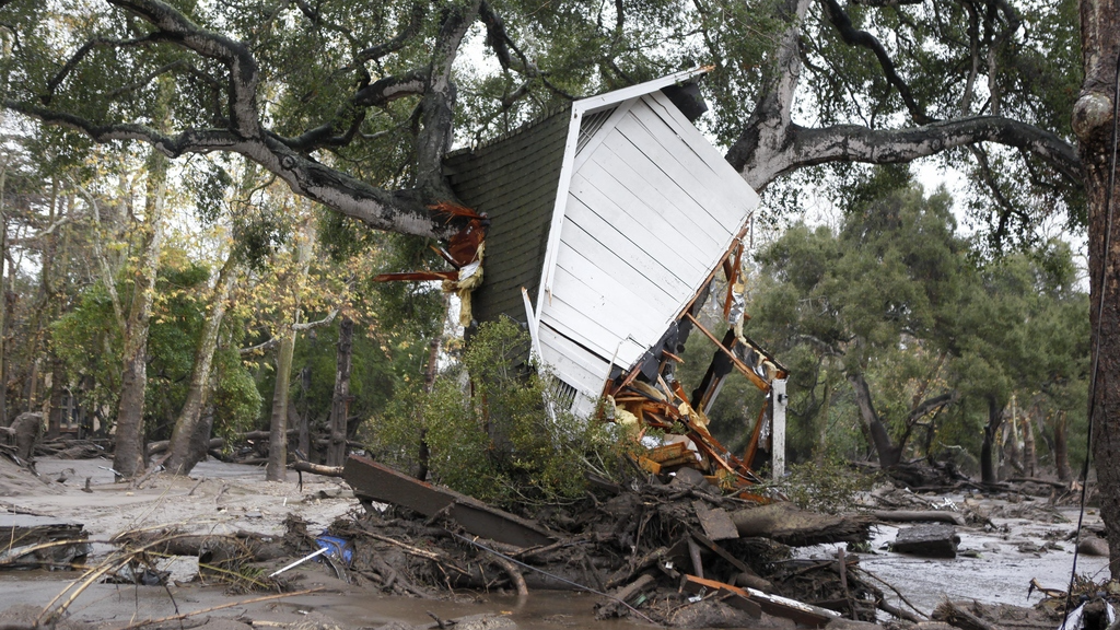 At least 17 killed as mudslides swamp elite California suburbs