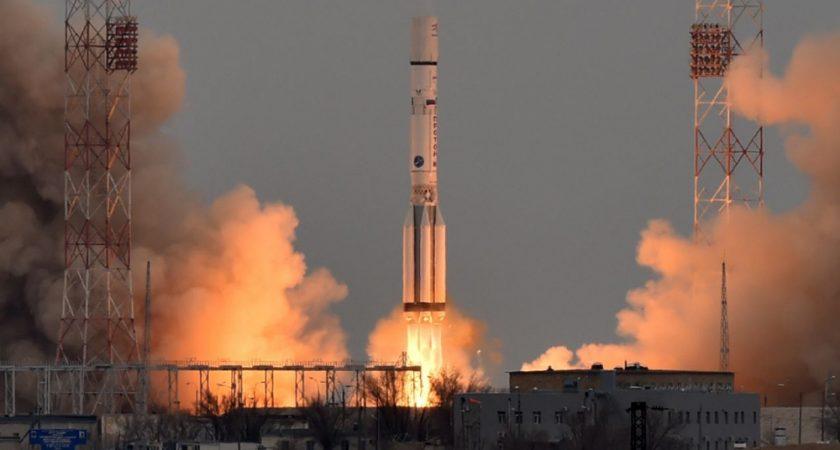 Selon l'agence russe Ria, la Russie a réalisé 19 lancements de satellites en 2017. Photo : AFP