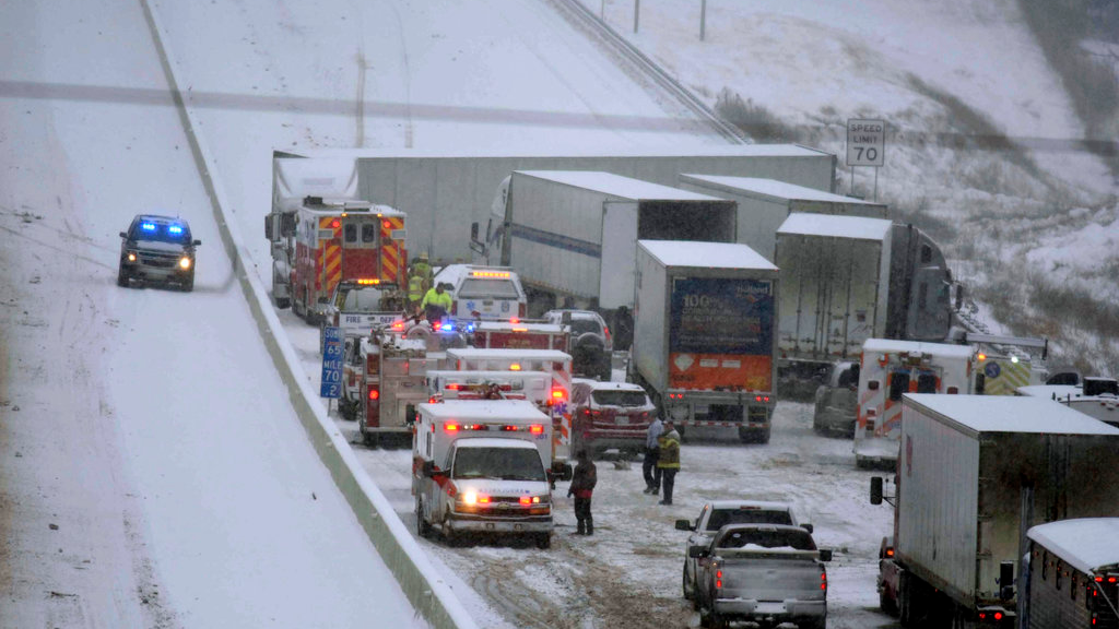 Storm Inga: Snow Causes Travel Chaos as Areas Declare State of Emergency