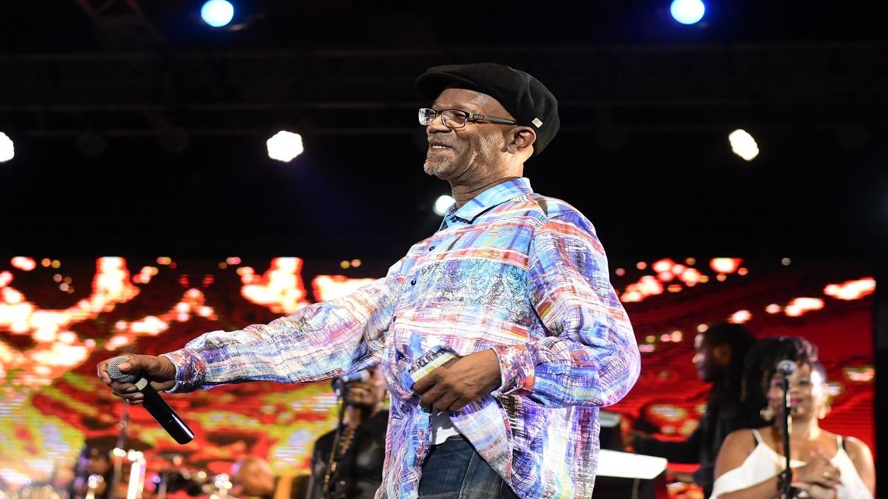 Beres Hammond performs at the Caribbean Love Now concert. (PHOTO: Marlon Reid)