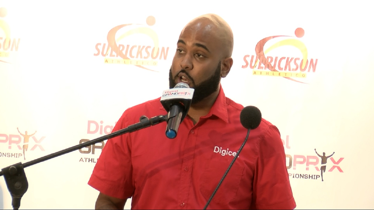 Regional Sponsorship Manager for Digicel, Andrew Brown.