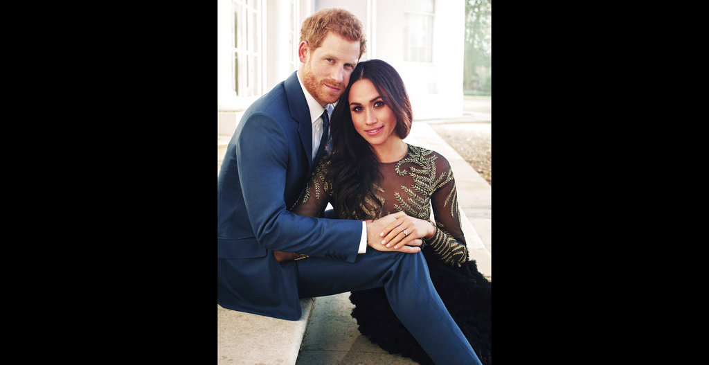 Britain's Prince Harry and his fiancee Meghan Markle.