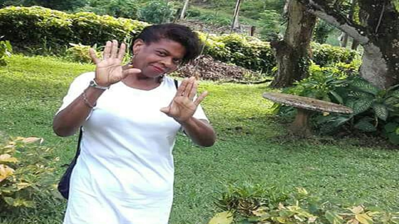 Attorney Lois Ferguson, alias Neo Makeba, who was found dead with a head wound inside her house in Ocho Rios, St Ann on Saturday.