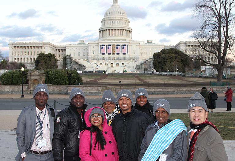 Un groupe d'enseignants bénéficiaires du programme Fulbright TEA / Crédit photo : IREX