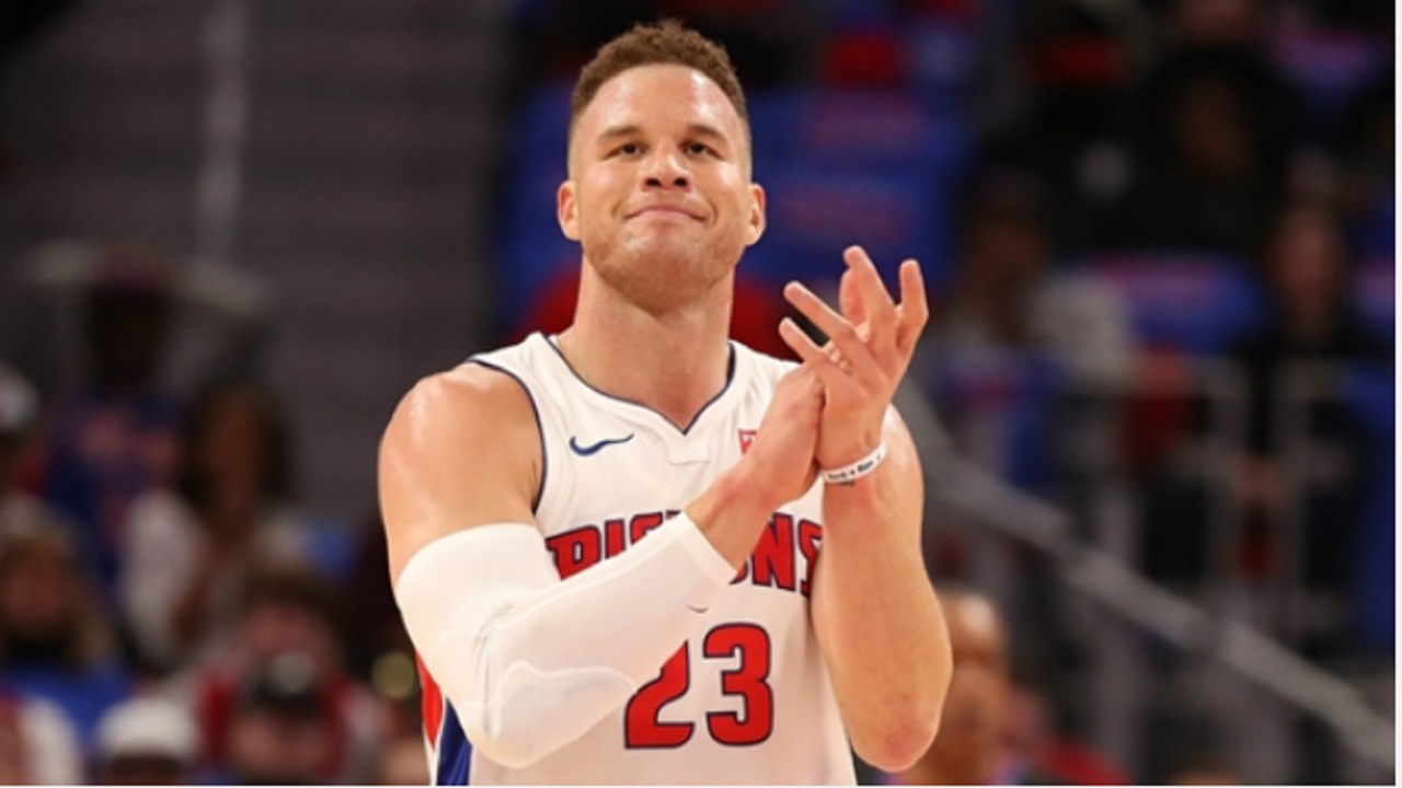 Detroit Pistons recruit Blake Griffin.