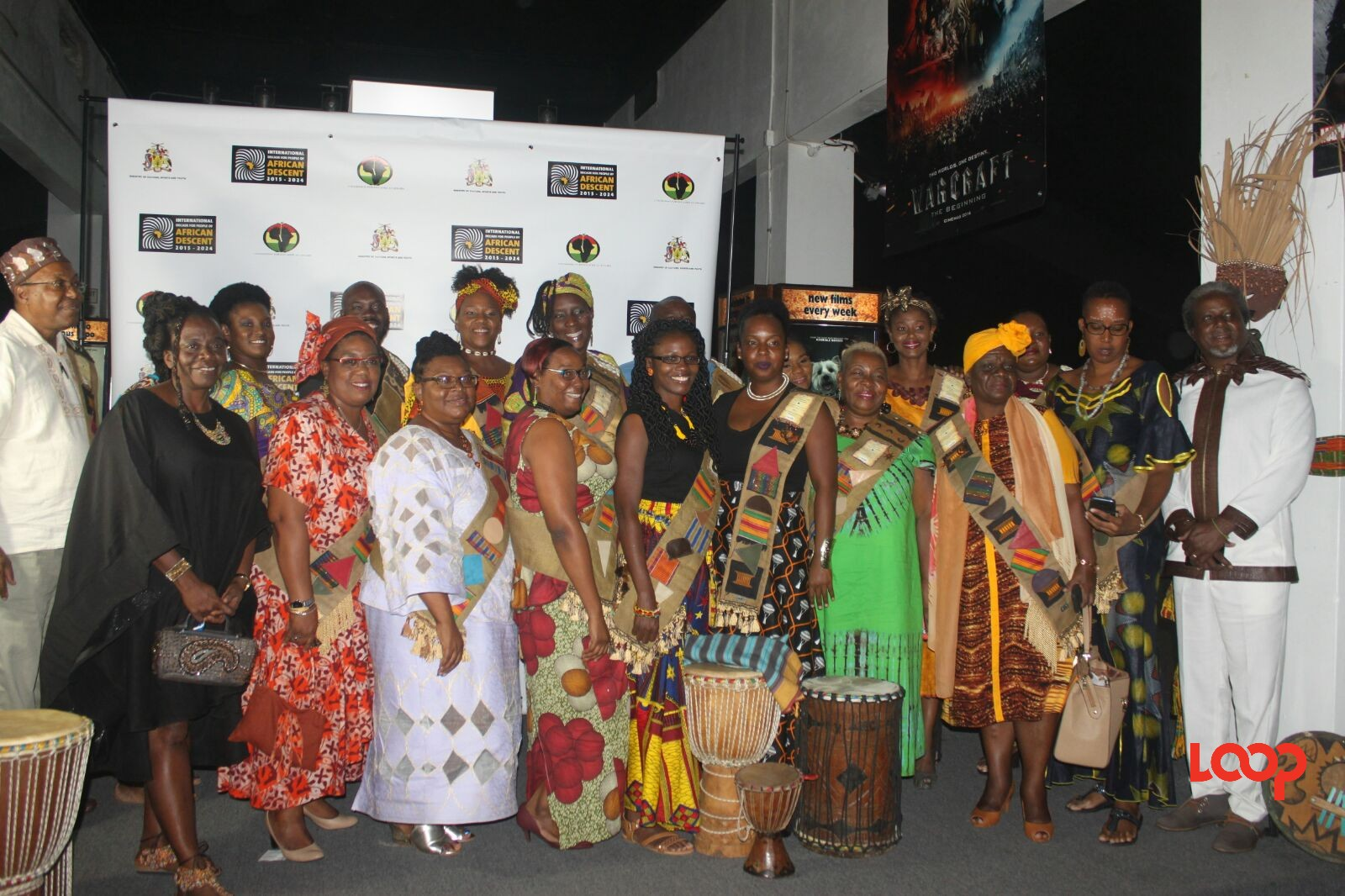 African fashion was on display