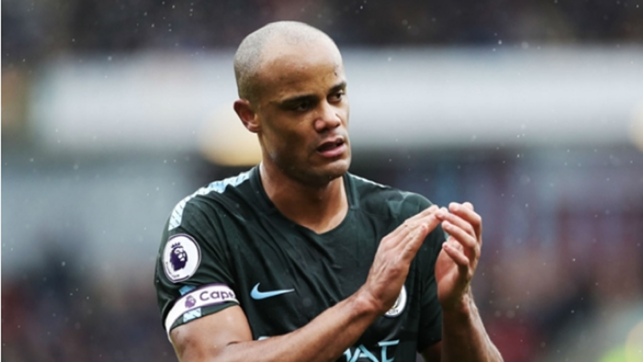 Manchester City defender Vincent Kompany.