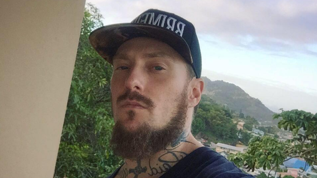 American producer Phil Taylor was robbed and threatened with death after Machel Monday.