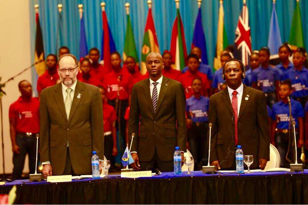 Haïti est ressorti sans statut de langue à la Caricom. /Photo : Président Jovenel Moise (Twitter)