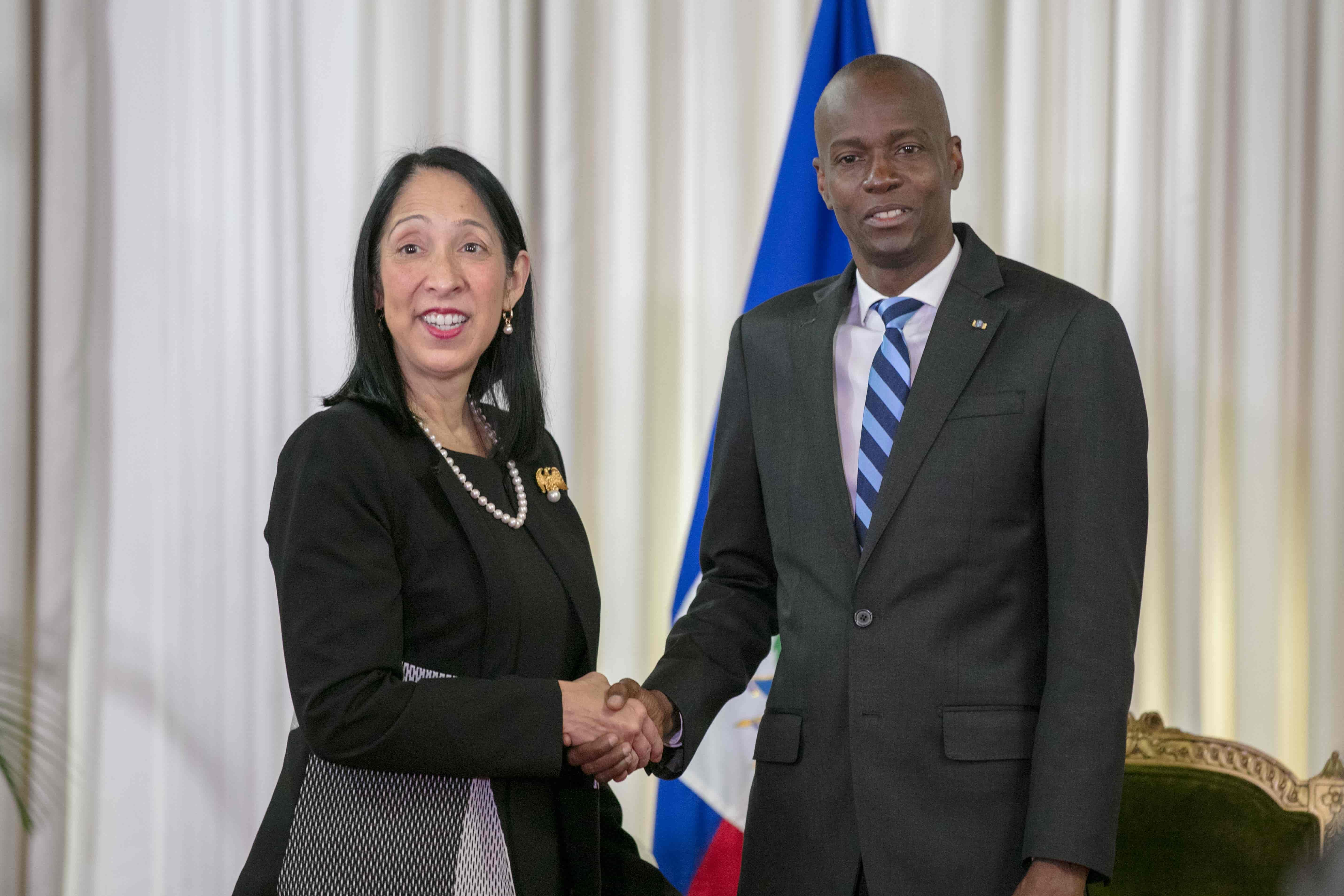 Les Etats-Unis ont un nouvel ambassadeur en Haiti./ Ambassade des Etats-Unis en Haiti
