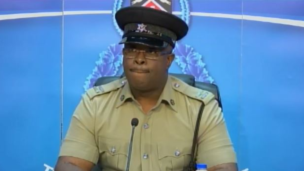 Acting Assistant Superintendent of the Corporate Communications Department, TTPS PRO Michael Jackman.