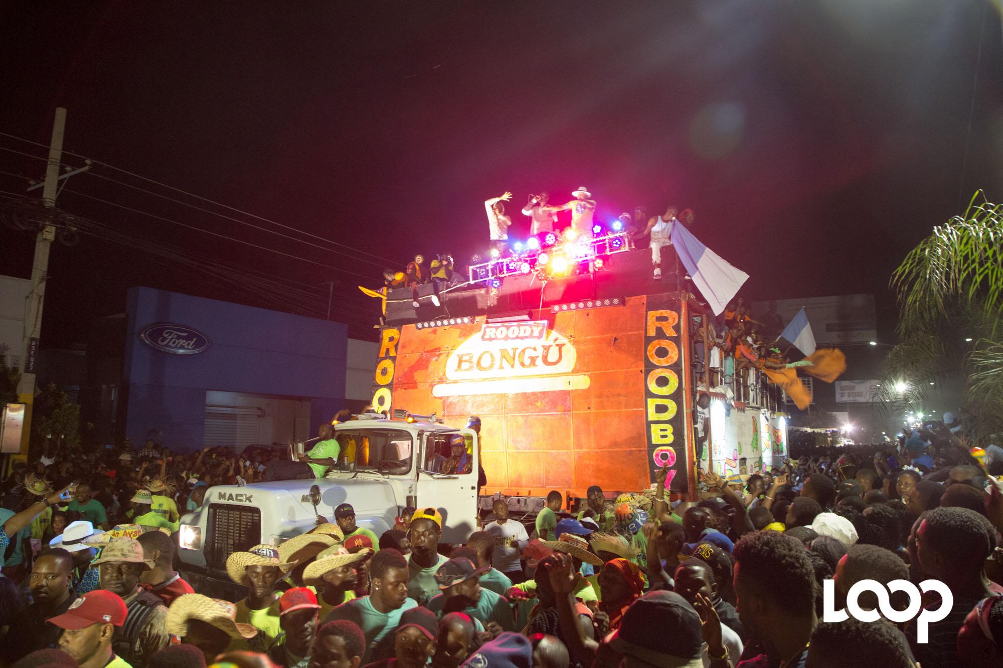 Roody Roodboy à la deuxième et dernière journée du Carnaval de Deslmas / Photos: Estailove St-Val - Loop Haiti