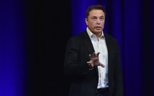 Elon Musk au congrès mondial d'astronautique à Adélaïde le 29 septembre 2017. AFP / PETER PARKS