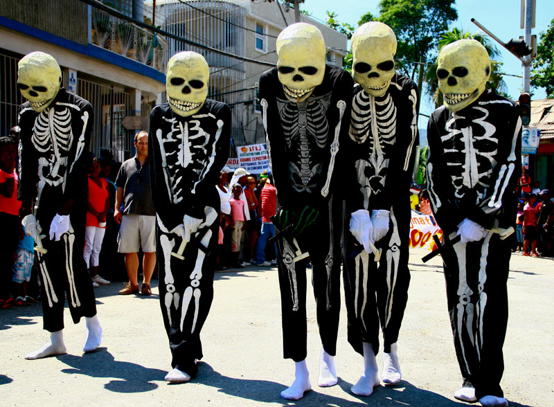 Carnaval en Haïti. Photo: Unesco
