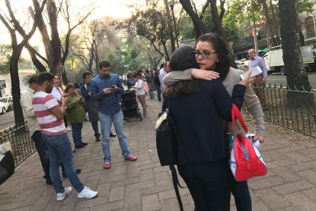 Mexique : un puissant séisme de 7,5 a secoué Mexico
