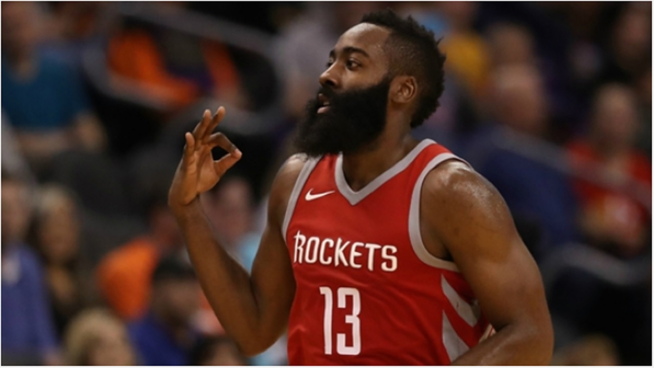 Houston Rockets star James Harden.