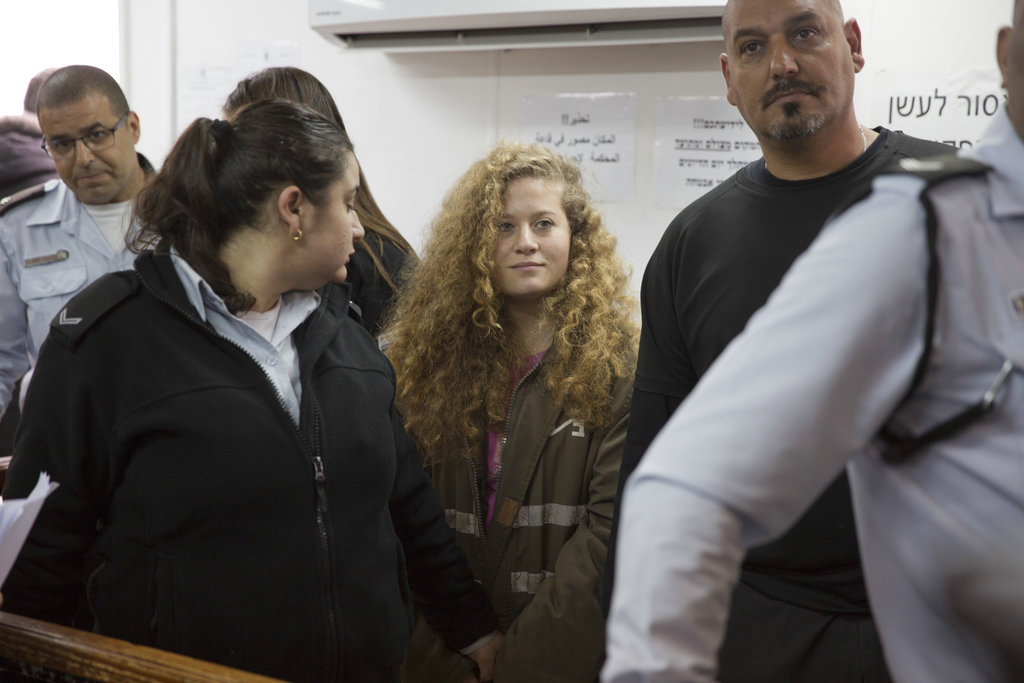 Palestinian teenager Ahed Tamimi goes on trial