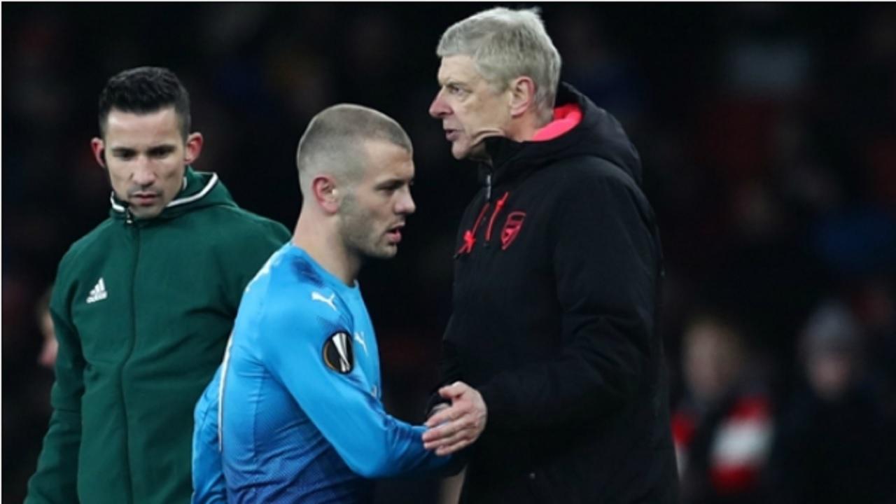 Arsenal midfielder Jack Wilshere.