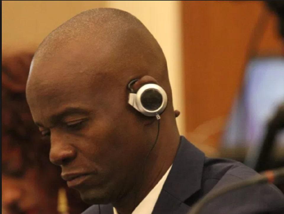 Le Président d'Haiti, Jovenel Moise