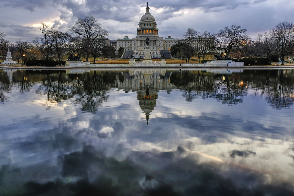 The Capitol Building in Washington. (AP Photo/Andrew Harnik)