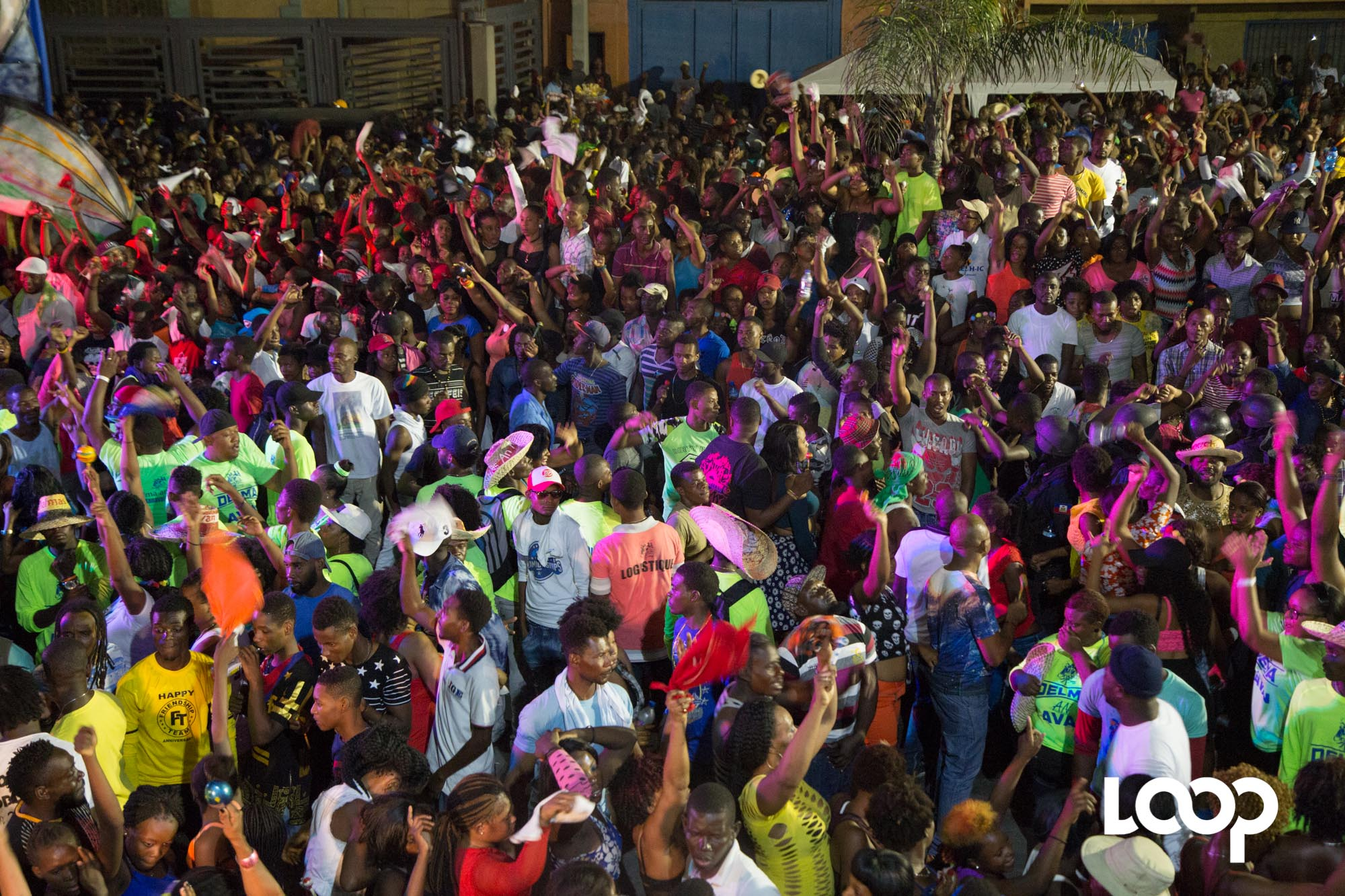 Quelque 940 policiers vont assurer la sécurité du carnaval 2018 sur le Champs de Mars. Photo: Estailove St-Love/LoopHaïti
