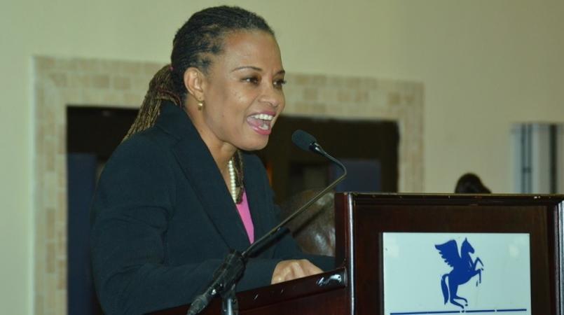 PAJ president, Dionne Jackson Miller