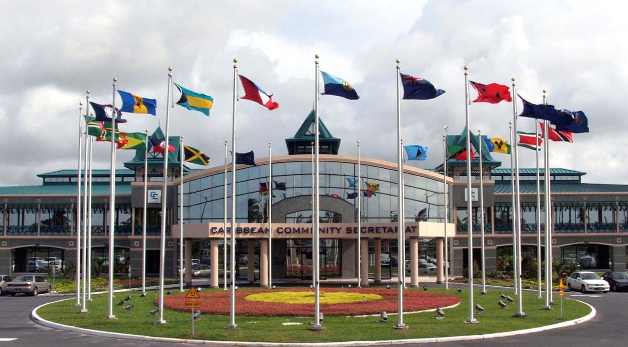 Photo du siège de la CARICOM. Photo: CARICOM Today