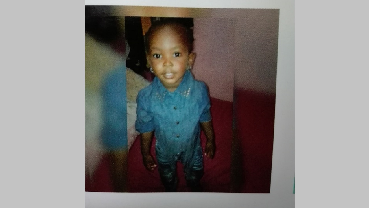 Kalesia Matthews, the three-year-old shot and killed in Annotto Bay, St Mary on Valentine's Day.