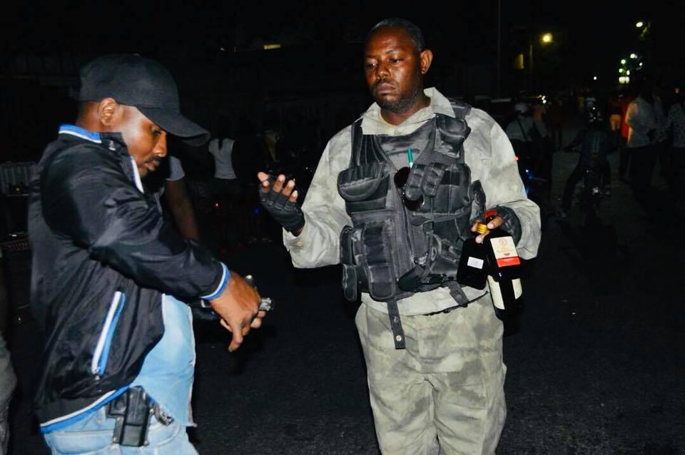 Des agents de la PNH opèrent lors des dimanches pré-carnavalesques. Photo: Facebook PNH