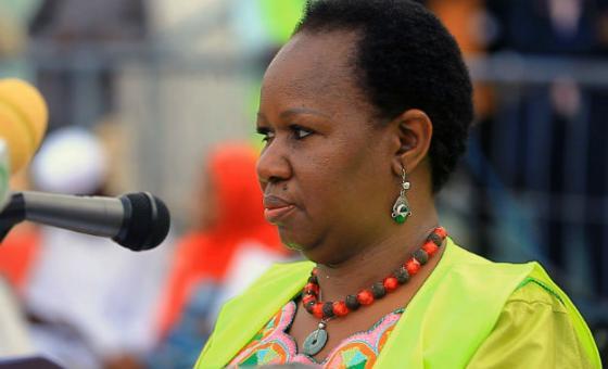 Mme Bintou Keita, Sous-Secrétaire Générale des Nations Unies aux opérations de maintien de la paix. Photo: UNAMID news