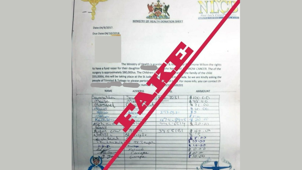 Health ministry warns of baby surgery donation scam loop news photo the health ministrys logo was seen on a letter requesting funds for surgery for spiritdancerdesigns Choice Image