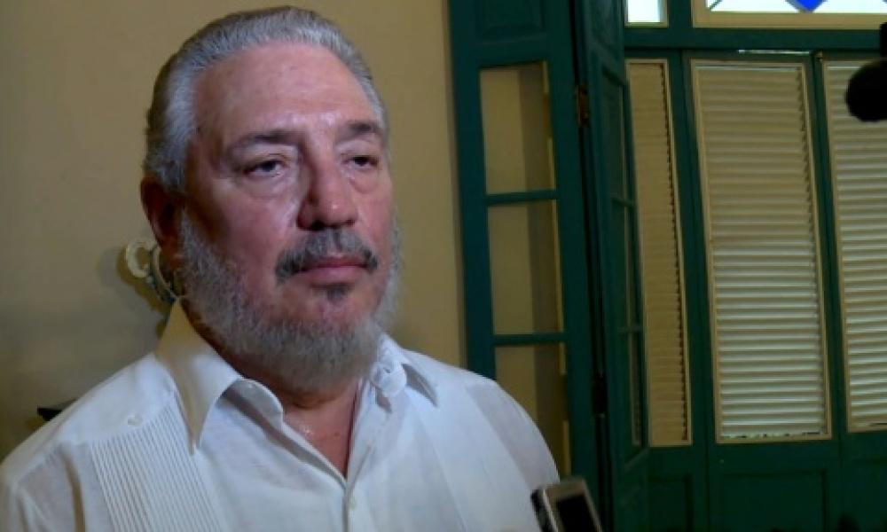 Fidel Castro Diaz-Balart, fils aîné de l'ex-président Fidel Castro et neveu de l'actuel président cubain s'est suicidé le 2 février 2018. Photo : AFP/Archives / ADALBERTO ROQUE