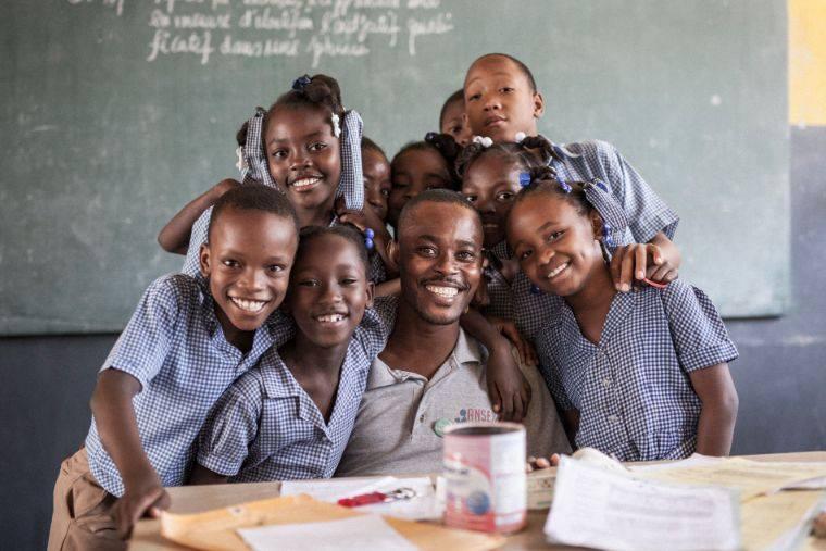 Image d'une école en Haïti