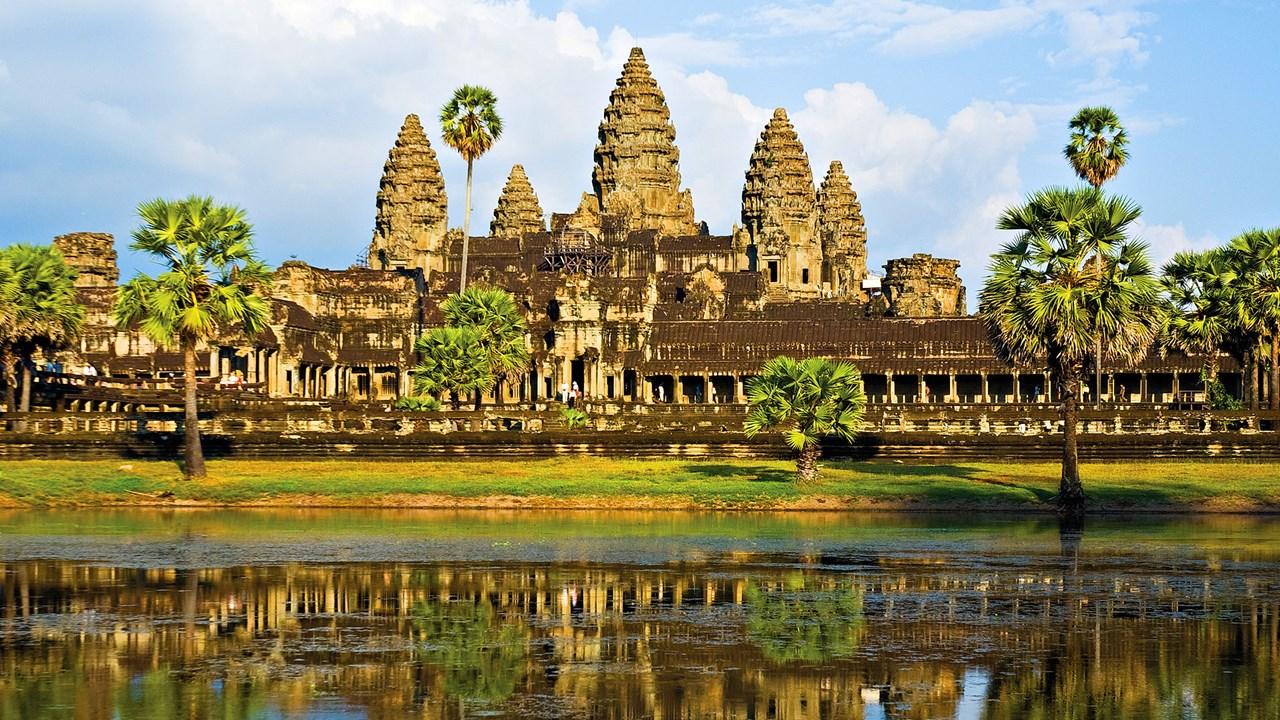 De 22-jarige Job en een grote groep andere toeristen waren op een feest in Siem Reap in de buurt van het tempelcomplex Angkor Wat.