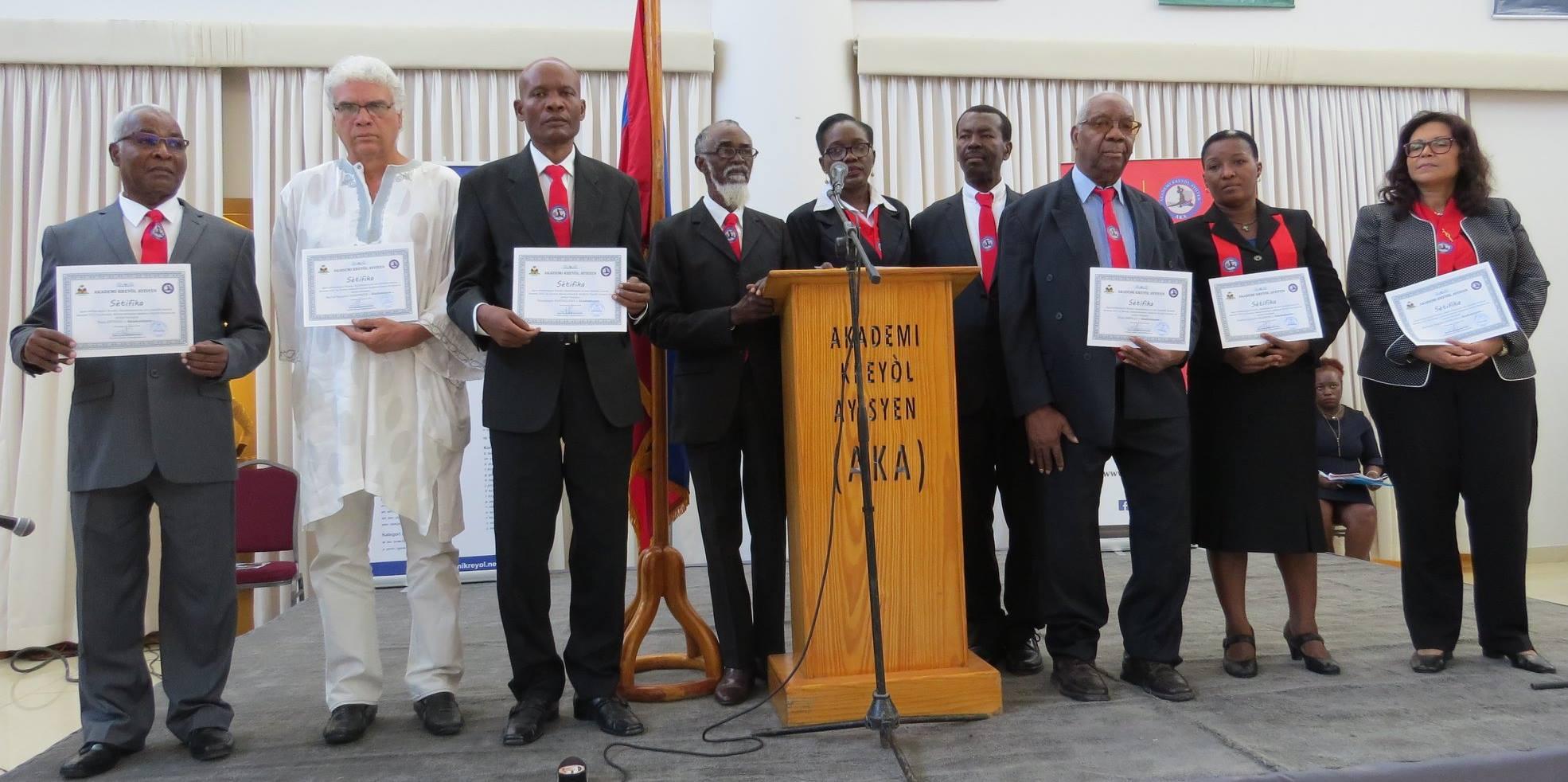 Les membres de l'AKA. Photo:AKA