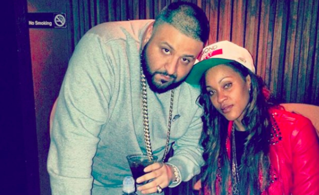 Shontelle and DJ Khaled (Instagram)
