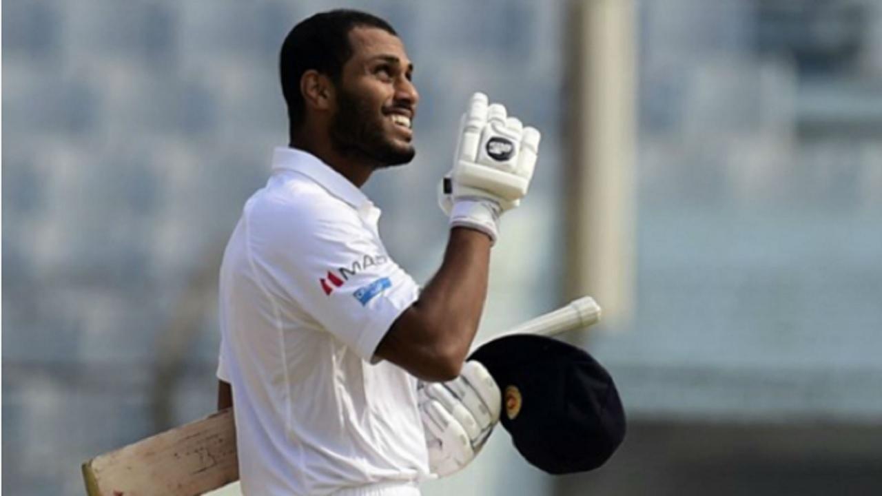 Sri Lanka's Roshen Silva.