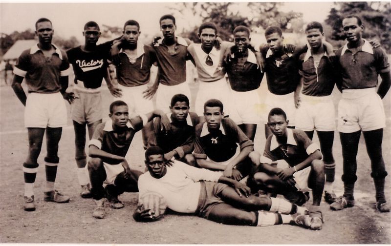 Sélection haïtienne de 1957. Photo: Fotki